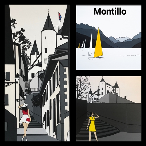 Montillo,montillo,montillo artiste peintre ,  pierre montillo,   Pintor, painter, contemporary, art, luxe suisse, galerie d'art, événement en Valais, Conthey, sion, culture Valais,  la Tour Lombarde Conthey,  commune de Conthey,  sierre, Hotel des Vignes.  Sion,  Culture. , Canal 9, Le nouvelliste, suisse, événement en Suisse, artiste peintre célèbre, montillo,  gianadda, fondation giannada,  art suisse, lac Leman,