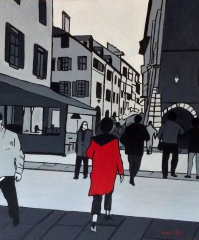Vieille Ville Annecy ,montillo peintre,art international,peintre celebre, mairie Saint jorioz,international contemporary art,placement financier dans l'art,financial investment in art, art investment,